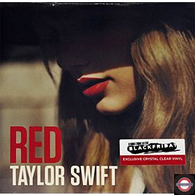 Taylor Swift - Red (Clear Vinyl,RSD Black Friday)