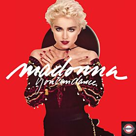 """Madonna - Limited 1 x 140g 12"""" Red translucent vinyl 7 track EP for RSD 2018"""