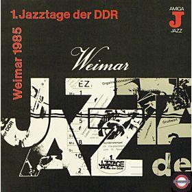 1. Jazztage Der DDR - Weimar 1985