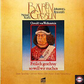 Alte Musik: Lieder von  Oswald von Wolkenstein