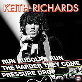 Keith Richards - Run Rudolph Run ( Red Vinyl, RSD Black Friday)